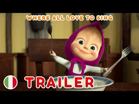 masha-and-the-bear-😊-italy-😊-where-all-love-to-sing-(trailer)