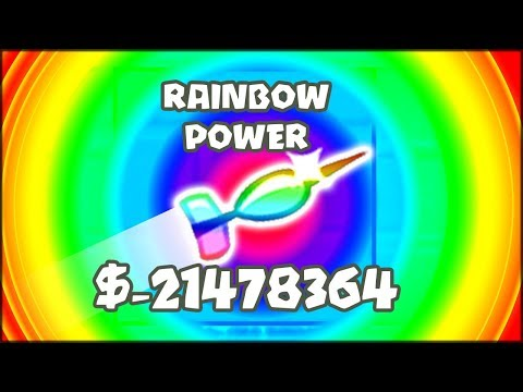 THE MOST POWERFUL DART EVER!! RAINBOW...