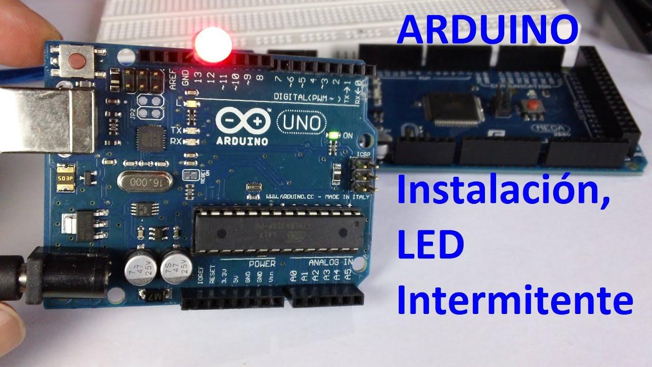 Circuito Led Intermitente : Circuito led intermitente v con