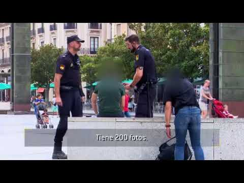 Policía Nacional. CENTELLAS