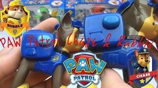 Обзор на игрушки Щенячий патруль щенки-спасатели Гонщик и Крепыш