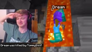 TommyInnit actually kills Dream in Minecraft...