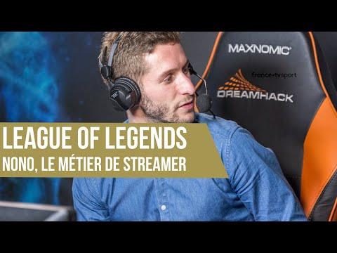 League of Legends, le métier de streamer avec Nono