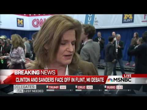 MSNBC Reporter Doesn't Know She's Live, Tips off Clinton Aide What She'll Ask Her