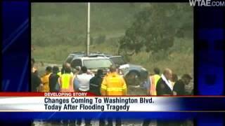 City Begins Installing Floodgates On Washington Boulevard