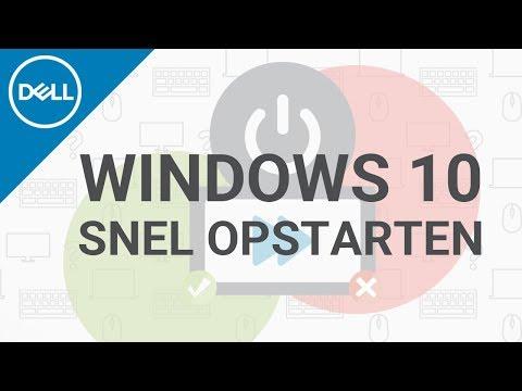 Windows 10 snel opstarten