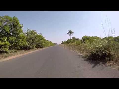 Guinée Bissau Route vers Bissau, Gopro / Guinea Bissau Road to Bissau, Gopro