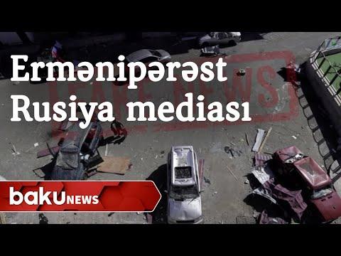"""Ermənipərəst Rusiya mediasından növbəti """"fake news"""" -  Baku TV"""