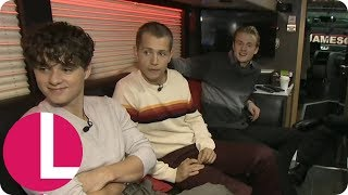 Who's the Worst Snorer on The Vamps' Tour Bus? | Lorraine