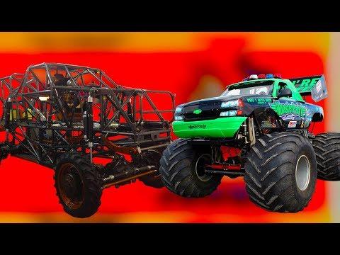 Что такое монстр траки, авто с огромными колесами