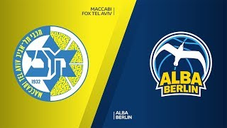 Maccabi FOX Tel Aviv - ALBA Berlin Highlights |Turkish Airlines EuroLeague, RS Round 7