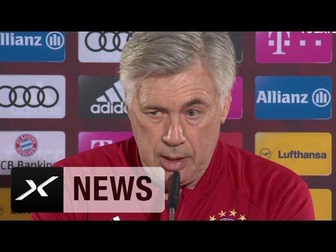 Carlo Ancelotti über HSV, Meilenstein und Claudio Ranieri | FC Bayern München - Hamburger SV