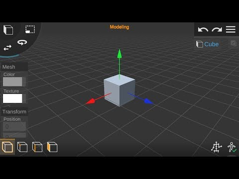 Best 3D Modeling & Animation App For Android - Prisma3D   Blender For Android?