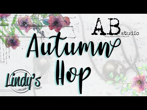 Autumn Hop / Mixed Media Tag By Karolina Czołba For AB Studio & Lindy's