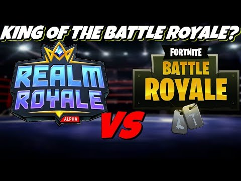 Fortnite Battle Royale Vs Realm Royale - Who's Better?