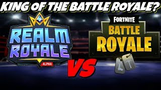 Fortnite Battle Royale vs Realm Royale - Who's better?