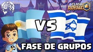 CR WORLDS - ARGENTINA VS ISRAEL - KManuS88 - Clash Royale