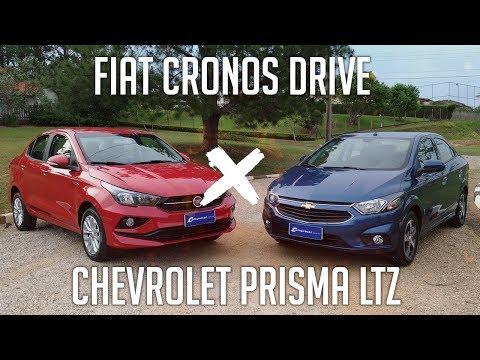 Comparativo: Fiat Cronos Drive X Chevrolet Prisma LTZ
