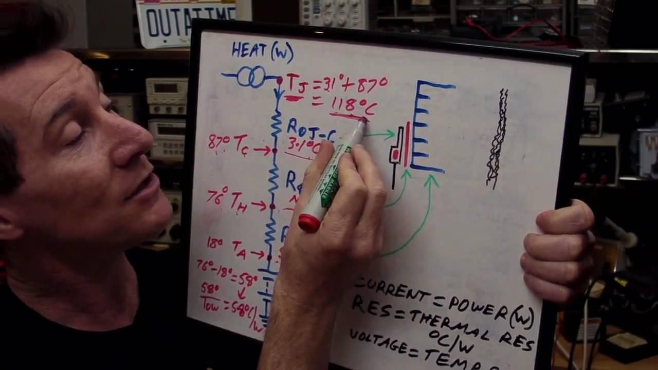 eevblog 105 electronics thermal heatsink design tutorial