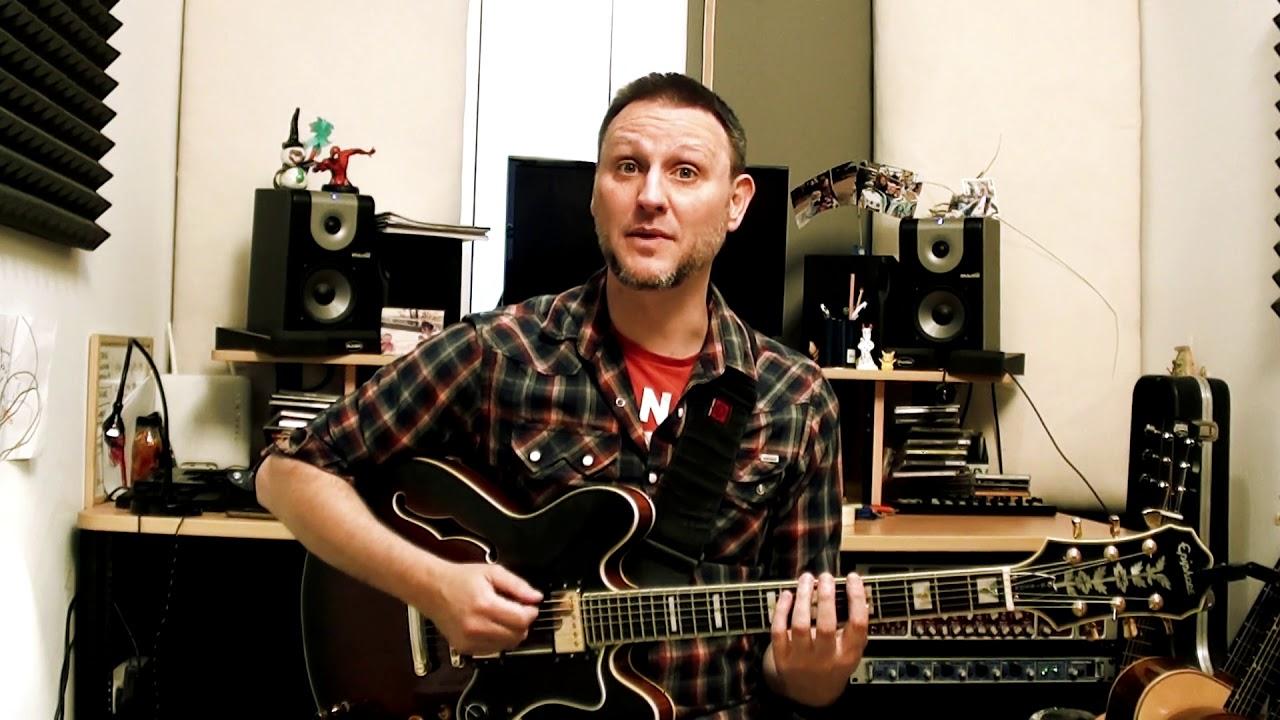 Como aprender los intervalos en la guitarra