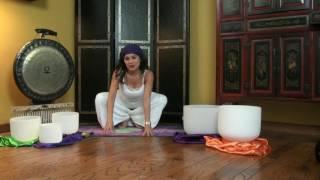 Raise Your Kundalini Sat Kriya Video with Warm-up, 6 min Sat Kriya, Soundbath