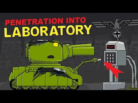 """""""Penetration Into Laboratory"""" Cartoons About Tanks"""