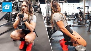 Nadia Amy's Best Leg Workout for Strength