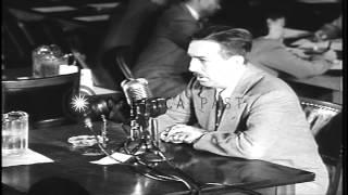 Walt Disney Studios owner Walt Disney testifies against communism at hearings of ...HD Stock Footage