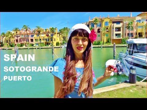 SPAIN, Ultra Unique Community, Sotogrande Port, Walking, BEST Video, Spanish VLOG #3