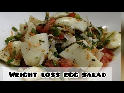 Weight Loss Egg Salad Recipe/High Protein Salad Recipe