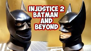 Injustice 2 Batman and Beyond foam cowl
