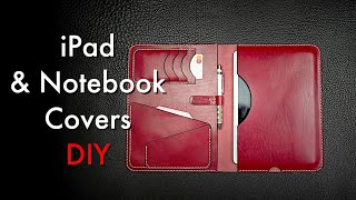 Leather iPad Cover DIY - Tutorial and Pattern Download