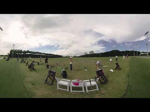 3D 360 VR - Jim Mclean Golf Lesson at Doral Miami