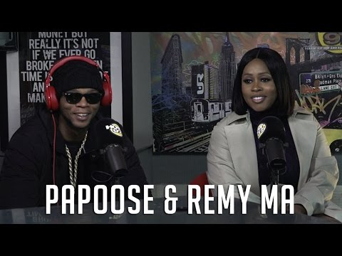 Remy Ma & Papoose Talk New Season of Love and Hip Hop, Having a Baby & Why She Hates on His Music