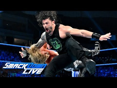 Roman Reigns vs. Dolph Ziggler: SmackDown LIVE, July 9, 2019