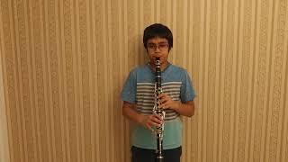 """""""Neerinalli aleya ungura"""" clarinet cover by Srikrishna Rao"""