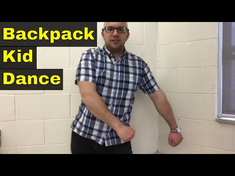 How To Do The Backpack Kid Dance-Easy Tutorial For The Floss Dance
