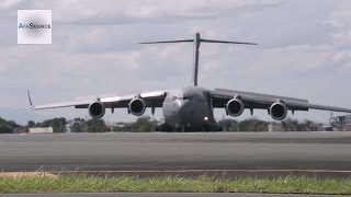 C-17A Globemaster III at Villamore Air Base - Operation Damayan, Typhoon Haiyan/Yolanda