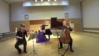 山崎和花 ~グリンカ:「悲愴」トリオ  ハ短調  第1楽章、第2楽章、第4楽章~