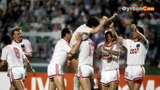 Как СССР наказал Италию в полуфинале Евро 1988