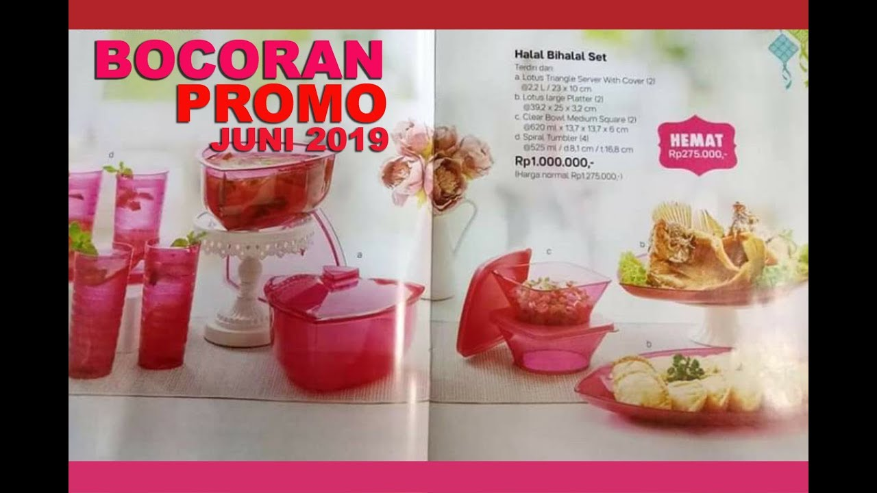 Bocoran Promo Tupperware Juni 2019 Tupperware Indonesia