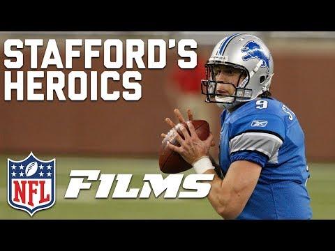 Matthew Stafford Mic'd Up in Game-Winning Heroics vs. Browns (2009) | NFL Films Presents