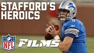 Matthew Stafford Mic'd Up in Game-Winning Heroics vs. Browns (2009) | NFL Films Presents