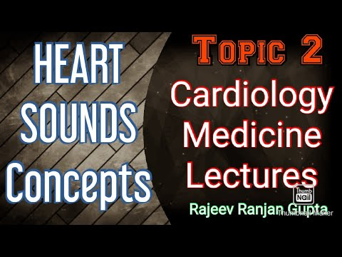 HEART SOUNDS , CARDIOLOGY LECTURES , MEDICINE LECTURES #cardiology