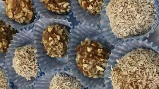 Мастер-класс по приготовлению конфет herbalife . Mirvari . Девчонки лепят)) 2017