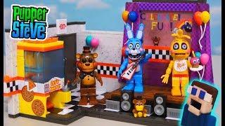 Фнаф іграшки Макфарлейн іграшки сценічний та іграшковий Фредді, іграшковий Бонні, іграшкова Чіка хвиля 5 Набір розпакування