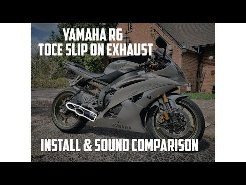 Yamaha R6 (06-18) Double Down Slip-On Exhaust