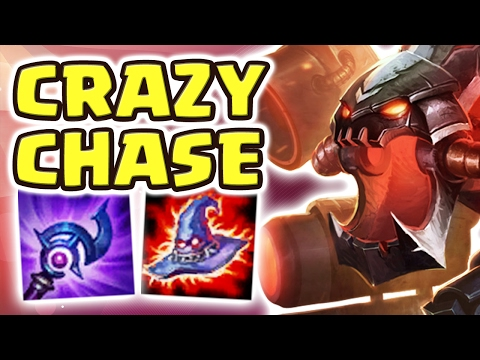 SIZE DOESN'T MEAN EVERYTHING!! THE LONGEST JUNGLE CHASE | FULL AP CHO'GATH JUNGLE