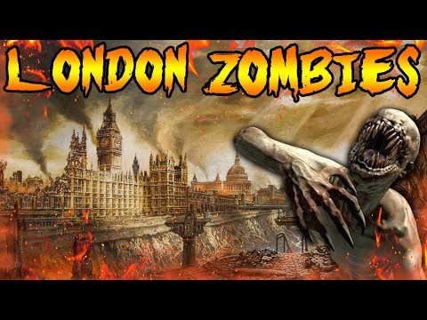 BLACK OPS 4 ZOMBIES LONDON MAP! Did KINO DER TOTEN Easter Eggs Predict the Future! Zombies Storyline
