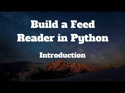 Build a Feed Reader in Python